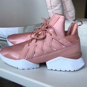 36a858376e10f0 Puma Shoes - MUSE ECHO SATIN WOMEN S SNEAKERS (8.5) PEACH Beige